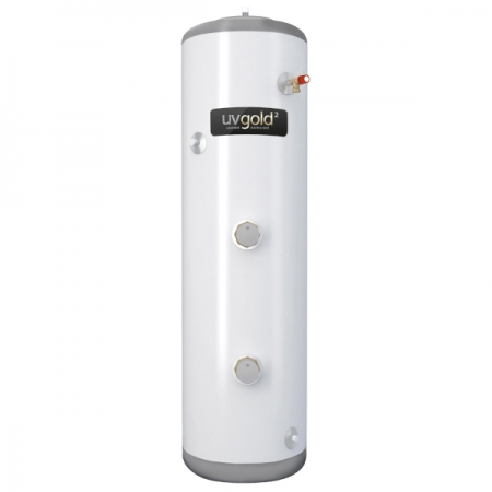 UVgold Slim Fit Direct Unvented Hot Water Storage 210L